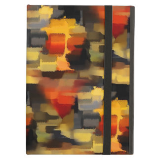Modern Abstract Paint Squares iPad Air Cover