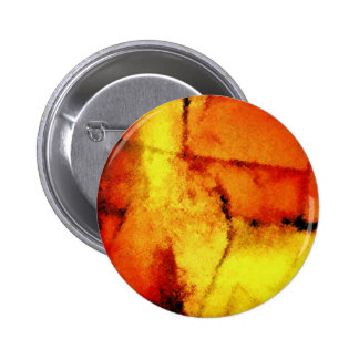 Modern Abstract Painting Art Pinback Button