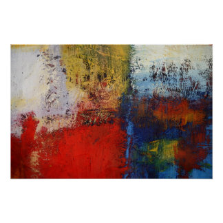 Modern Abstract Painting Art Print Posters