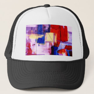 Modern Abstract Painting Art Print Trucker Hat