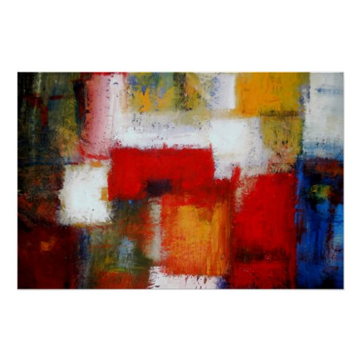 Modern abstract painting art prints posters zazzle for Modern art prints posters