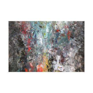 Modern abstract painting. canvas print