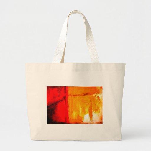 Modern Abstract Painting Jumbo Tote Bag