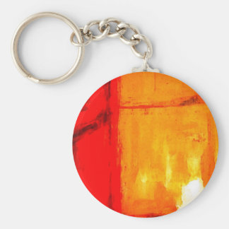 Modern Abstract Painting Key Chains