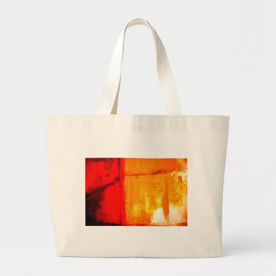 Modern Abstract Painting Large Tote Bag