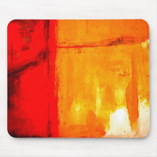 Modern Abstract Painting Mouse Pad