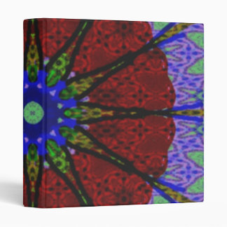 Modern abstract pattern binder