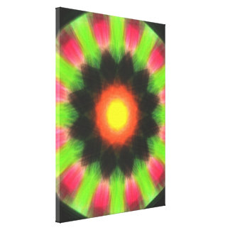 Modern abstract pattern canvas print