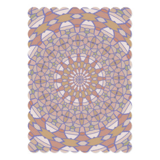 Modern abstract pattern card