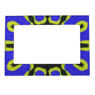 Modern abstract pattern magnetic photo frame