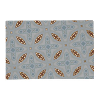 Modern Abstract Pattern Laminated Place Mat
