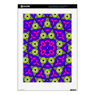Modern abstract pattern PS3 console decals