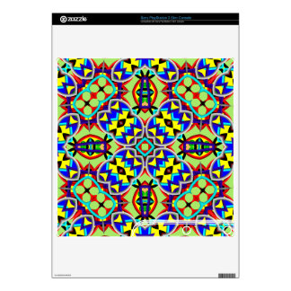 Modern abstract pattern PS3 slim decal