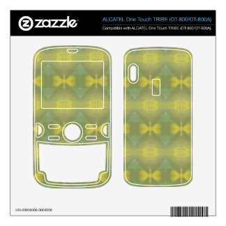 Modern abstract pattern ALCATEL tribe skins