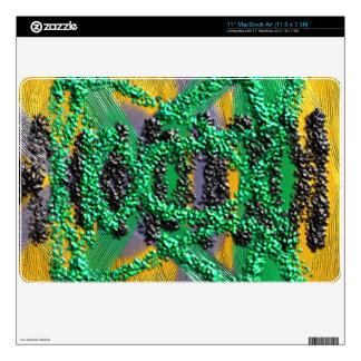 "Modern abstract pattern 11"" MacBook air decal"