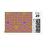 Modern abstract pattern stamp