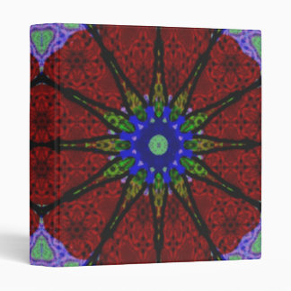 Modern abstract pattern vinyl binder
