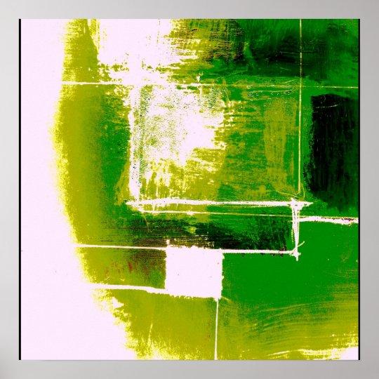 Modern Abstract Poster Original Modern Art Print | Zazzle