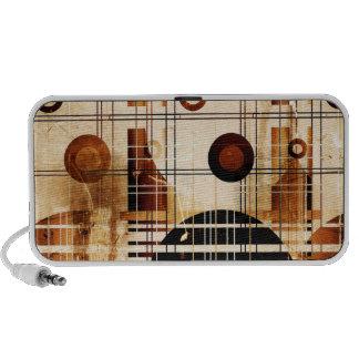 Modern Abstract Portable Speaker