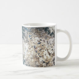 Modern Abstract Stone Look Coffee Mug