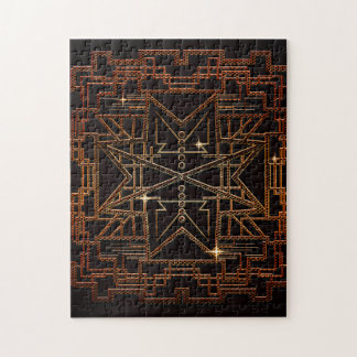 Modern abstract structure puzzles