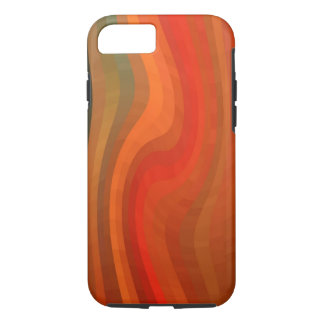 Modern Abstract Wavy Stripes iPhone 7 Case