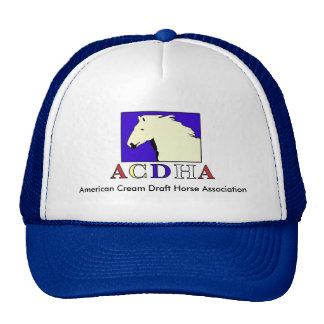Modern ACDHA logo Blue & White Cap Trucker Hat