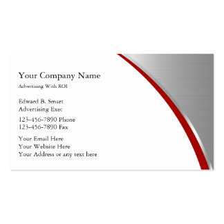 Modern Advertising Business Cards