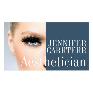 Modern Aesthetician Salon Spa Makeup Artist Card