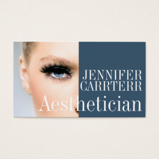 Modern Aesthetician Salon Spa Makeup Artist Card