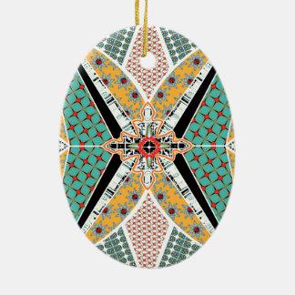 Modern Africa Geometric Vibrant Ornament