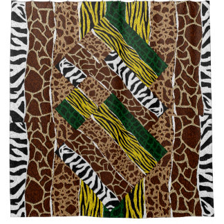 African Pattern Shower Curtains | Zazzle