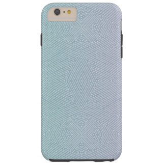 Modern African Tribal Lines Tough iPhone 6 Plus Case