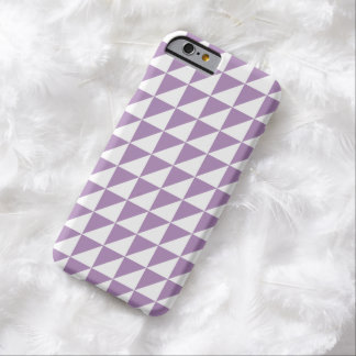 Modern African Violet Geometric iPhone 6 Case