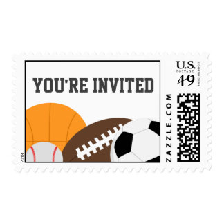 Modern All Star Party Postage