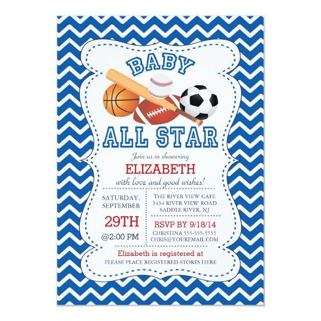Custom Soccer baby shower Invites Templates Babyfavors4u