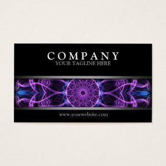 Modern Amethyst Desire Business Card
