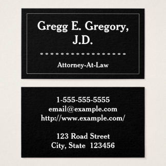 Oval shape business cards templates zazzle modern and clean attorney at law business card colourmoves Images