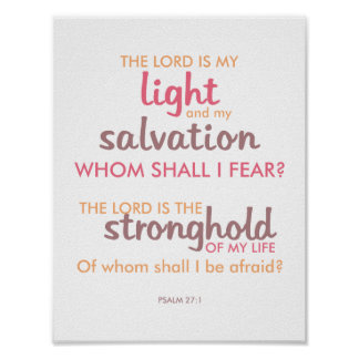 Modern and Colorful Bible Verse Poster