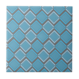 Modern and Edgy Retro Pattern Tile