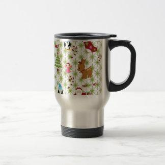 Modern and Fun Christmas Collage Coffee Mugs