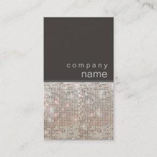 Entertainment business cards templates zazzle modern and hip faux sequin entertainer business card colourmoves