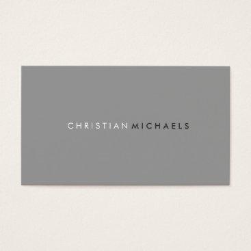 geniusmomentbranding Modern and Minimal Business Card