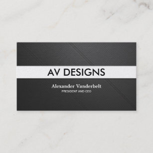 Perforated business cards zazzle modern and minimal perforated leather professional business card colourmoves