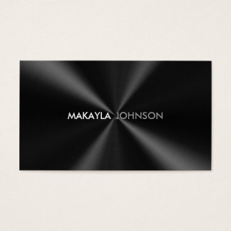 Modern and Minimal Professional Business Card