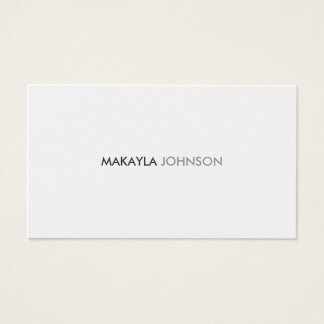 Modern and Minimal Professional Business Cards