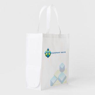 Modern and professional 3D realtor / construction… Grocery Bags