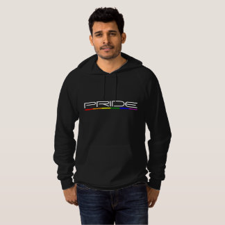 Modern and Stylish Design Pride Rainbow Flag Hoodie
