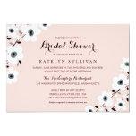 Modern Anemone | Bridal Shower 5x7 Paper Invitation Card
