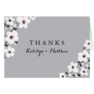 Modern Anemone | Thank You Card